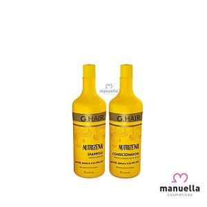 G HAIR KIT NUTRIZENA SHAMPOO + CONDICIONADOR 1L