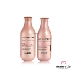 LOREAL SERIE EXPERT KIT VITAMINO COLOR SHAMPOO 300ML + CONDICIONADOR 200ML