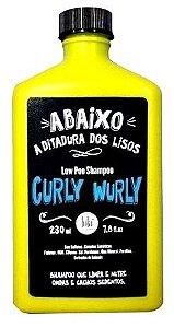 Lola Curly Wurly Low Poo Cabelos Cacheados Shampoo 230 gramas