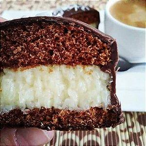 Pão de Mel Tradicional coberto com chocolate belga (15 unidades)