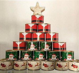 Bolo Enlatado natalino (30 unidades)