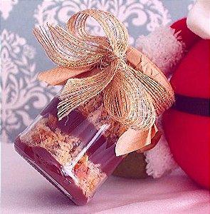 Chocotone ou panetone de colher no pote luxo grande (4 potes)