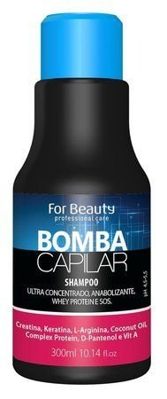 Shampoo Bomba Capilar For Beauty 300ML