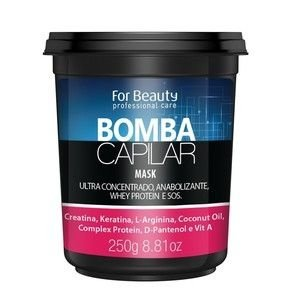 Máscara Bomba Capilar For Beauty 250g