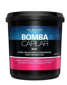 Máscara Bomba Capilar For Beauty 1Kg