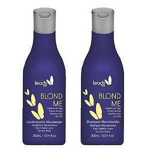 Kit Manutenção Blond Me Leads Care 300ml