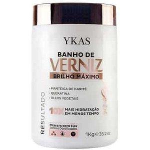 Ykas Banho De Verniz Brilho Máximo 1Kg