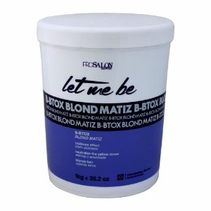 Btox Capilar Let Me Be Blond Matiz 1Kg Prosalon