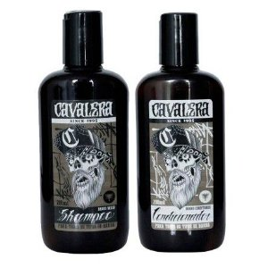 Kit Cavalera Shampoo + Condicionador Para Barba 200ml