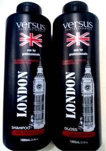 Escova Progressiva London Black Versus 2x1L