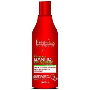 Shampoo Banho de Verniz Morango Forever Liss 500ml