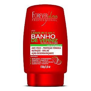 Leave In Banho de Verniz Morango Forever Liss 150g