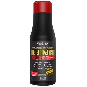 Matizador Anabolizante Colors Red Natumaxx 500ml