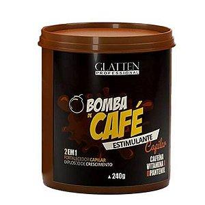 Máscara Bomba de Café Glatten 240g
