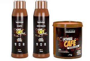 Kit Bomba de Café Glatten Profissional 1kg