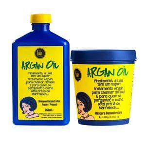 Kit Reconstrutor Lola Argan Oil/Pracaxi 2 Itens