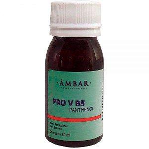 Ampola Capilar Ambar Panthenol PRO V B5