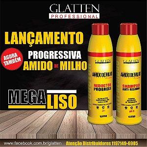 Escova Progressiva Maizzena Glatten 2x1Litro