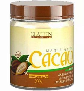 Manteiga de Cacau Glatten 200g