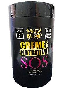 Creme Ultra Nutritivo SOS Mega Blend 1Kg