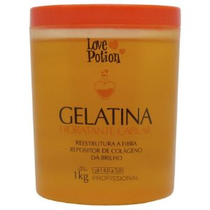 Gelatina Hidratante Capilar Love Potion 1Kg