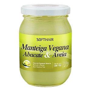 Manteiga Vegana Soft Hair Abacate E Aveia 220g