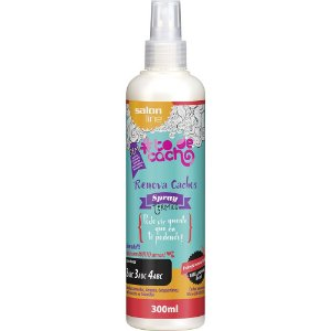 Spray Térmico Renova Cachos #todecacho Salon Line 300ml