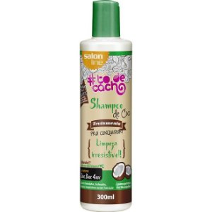 Shampoo de Coco #todecacho Salon Line 300ml