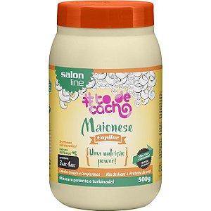 Máscara Maionese Capilar #todecacho Salon Line 500g