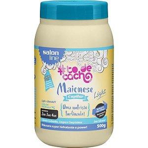 Máscara Maionese Capilar Light #todecacho Salon Line 500g