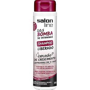 Shampoo SOS Bomba de Vitamina Liberado Salon Line 300ml