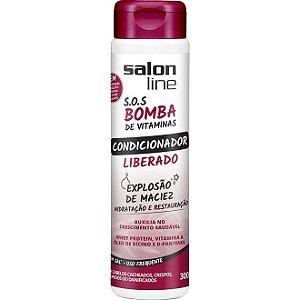 Condicionador SOS Bomba de Vitamina Liberado Salon Line 300ml