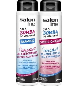 Kit SOS Bomba de Vitamina Salon Line Shampoo e Condicionador