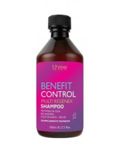 Shampoo Benefit Control Three Therapy 500ml