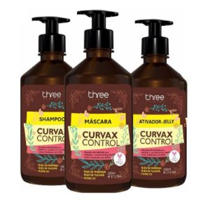 Kit Curvax Control Three Therapy 500ml