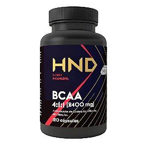 HND BCAA 2400mg Hinode 120 cápsulas