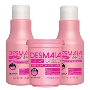 kit Desmaia Cabelo Com Máscara De 250g For Beauty