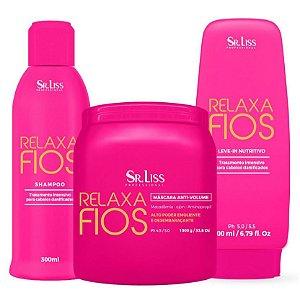 Kit Relaxa Fios Sr. Liss Profissional