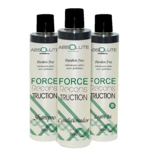 Kit absolute Force Reconstruction Home Care Absolute Cosméticos