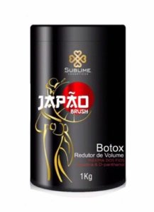 Btox Capilar Japão Brush Sublime Cosmeticos 1Kg