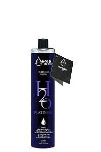 Escova Progressiva Aegla H2O Platinum Sem fumaça em Gel 300ml