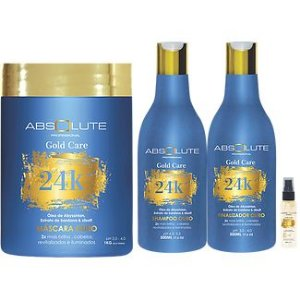 Kit Profissional 24k Absolute Cosméticos