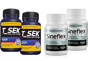 2 Sineflex + 2 T_Sek - Super Combo Power Supplements