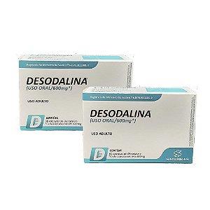 Desodalina - Combo com 2 Caixas de Desodalina (120 cápsulas)