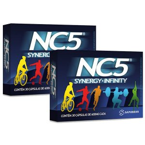 NC5 - Synergy Infinity - Combo com 2 unidades (60 Cápsulas)