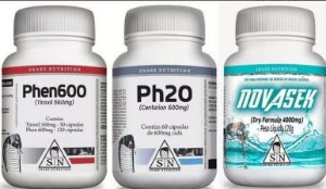 Ph20, Phen600 e NovaSek - Super Combo Snake Nutrition