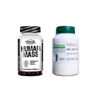 Dilatex e Human Mass - Super Combo Mass