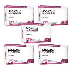 Monaliz - Meu Controle - Combo com 5 caixas
