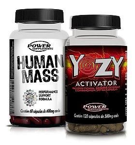 Human Mass e Yozy Activator - Super Combo