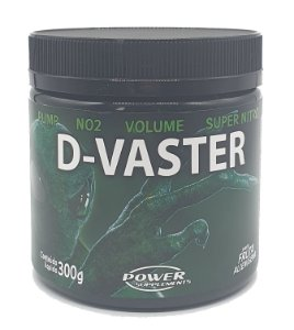 Pré Treino D-Vaster ORIGINAL + Coqueteleira Power Supplements